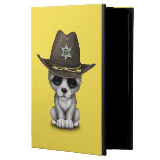 Cute Baby Wolf Sheriff Powis iPad Air 2 Case