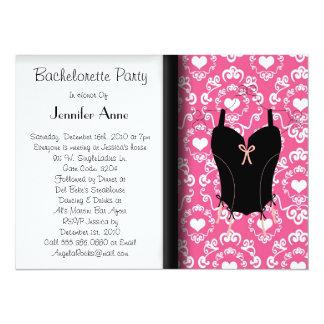 Cute Bachelorette Party 14 Cm X 19 Cm Invitation Card