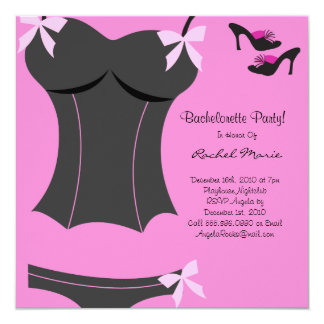 CUTE Bachelorette Party Designer Invites