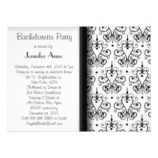 Cute Bachelorette Party Time Personalized Announcements