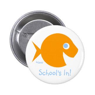 Cute Back To School School s In Button