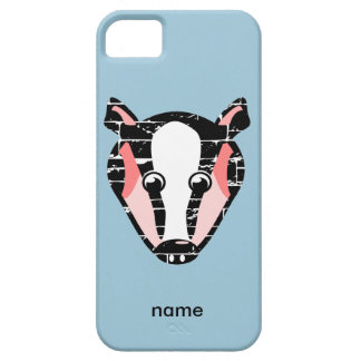 Cute Badger Face iPhone 5 Cases