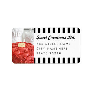Cute Bakery Cafe Business Mailiing Address Lables Address Label