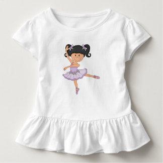 Cute Ballerina Girl Toddler T-Shirt