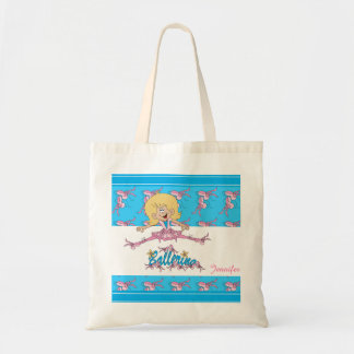 Cute Ballerina Nursery Theme Bags