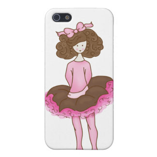 Cute Ballerina - Pink Dance Cases For iPhone 5