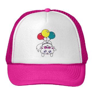 cute balloon kitten hats