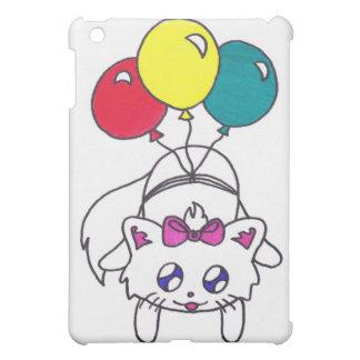 cute balloon kitten iPad mini case