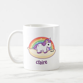 Cute Banana Unicorn Coffee Mug