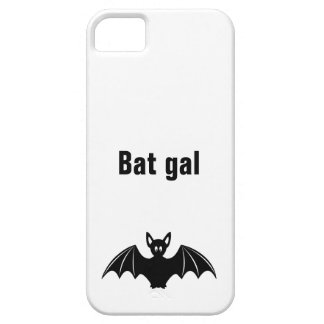 Cute bat cartoon pun joke girls case for the iPhone 5