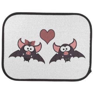 Cute Bat Love Desgin Floor Mat