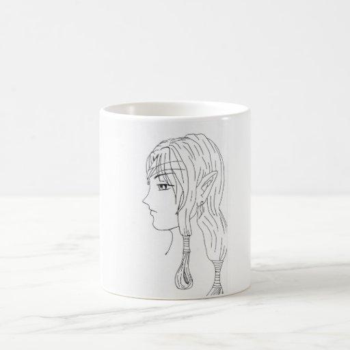 cute battle elf coffee mug