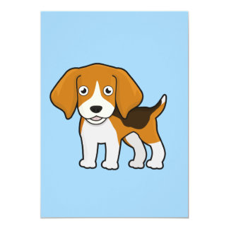Cute Beagle Card