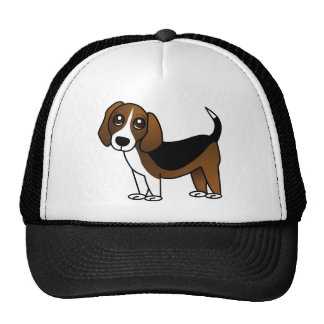 Cute Beagle Cartoon Dog Cap