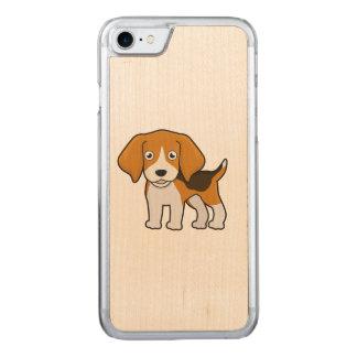 Cute Beagle Carved iPhone 8/7 Case