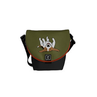 Cute Beagle - Custom Color Courier Bags