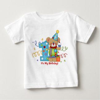 Cute Bear Birthday T-Shirt Age 1