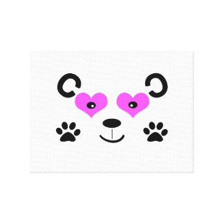 Cute Bear Stretched Canvas Prints