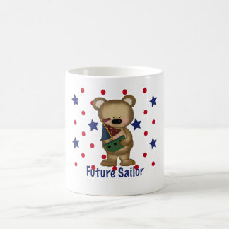 Cute Bear Future Sailor Coffee Mugs