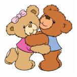 Cute Bear Hug Bears Photo Cut Outs