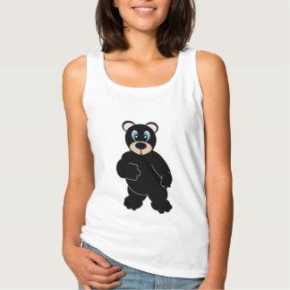 Cute Bear Tank Top Shirt
