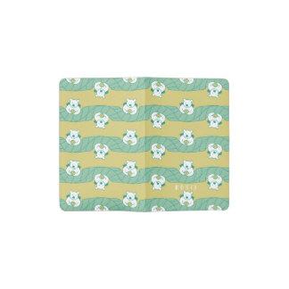 Cute Bear Tea Break Pattern Moleskine Notebook
