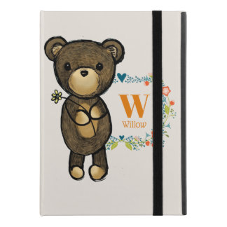 "Cute Bear, Yellow Flower & Floral Wreath iPad Pro 9.7"" Case"
