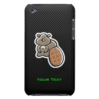Cute Beaver; Sleek Barely There iPod Case