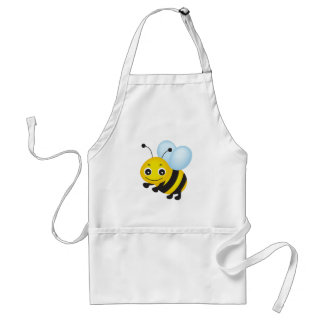 Cute bee design standard apron