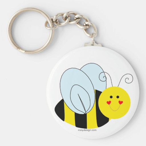 Cute Bee Key Chains