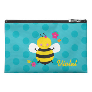 Cute Bee Personalized Accesory Bag Travel Accessories Bag