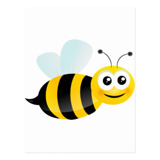 Cute Bee Postcard