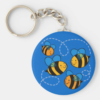 Cute Bees Keychains