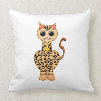 Cute Bengal cat Cushion