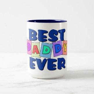 Cute Best Daddy EVER Coffee Mugs