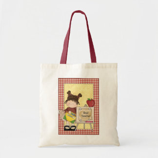 Cute Best Teacher Tote Bag