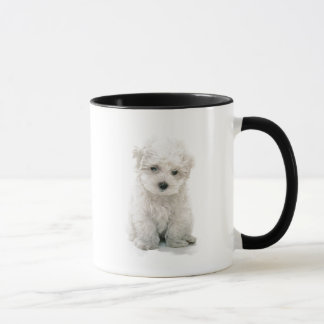 Cute Bichon Frise Coffee Mug