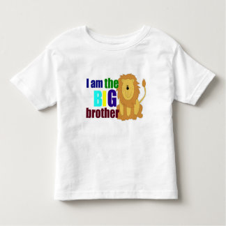 Cute Big Brother with Lion Toddler  T-Shirt