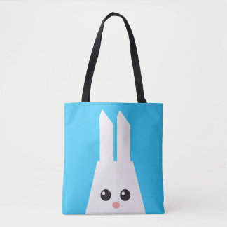 Cute Big Bunny. Tote Bag