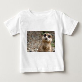 Cute Big-Eyed Meerkat Baby T-Shirt