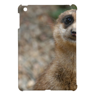 Cute Big-Eyed Meerkat iPad Mini Cover