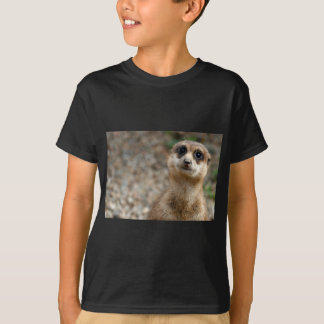 Cute Big-Eyed Meerkat T-Shirt