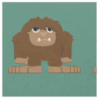 Cute Bigfoot Fabric