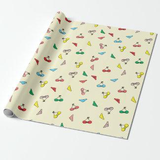 cute bikinis wrapping paper