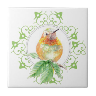 Cute Bird, Hummingbird, Nature, Garden Wildlife, Tiles