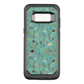 Cute Bird Pattern Five OtterBox Commuter Samsung Galaxy S8 Case