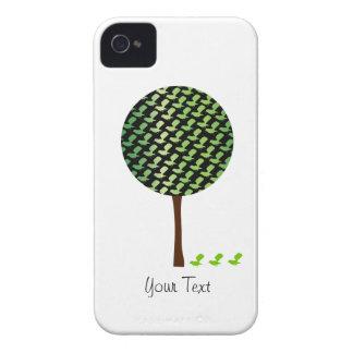 Cute Bird Tree Case iPhone 4 Cases