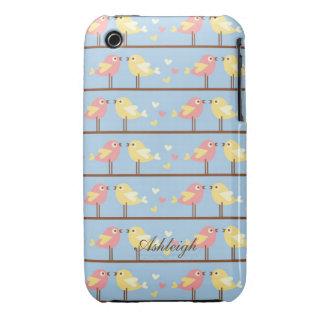 Cute Birds iPhone 3 Case-Mate Case