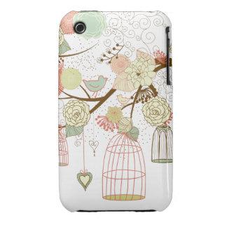 cute birds iPhone 3 cases