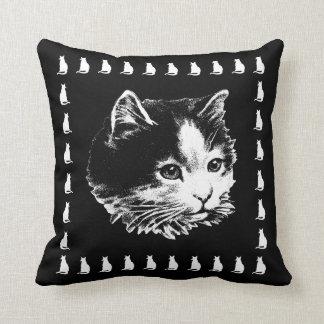 Cute Black Pillows : Cute Black Cat Cushions - Cute Black Cat Scatter Cushions Zazzle.com.au